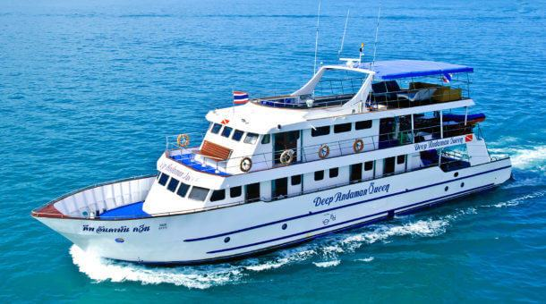 Deep Andaman Queen Liveaboard - Diving in Thailand and Myanmar
