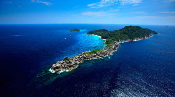 The Similan Islands in Thailand