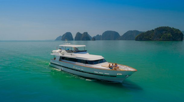 Luxury Boat Charter Thailand