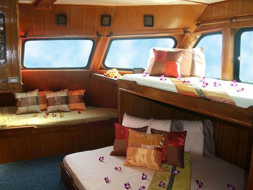 Andaman Tritan - Master Cabin