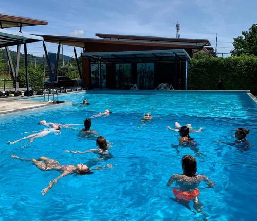 Swim Test in the Tropics