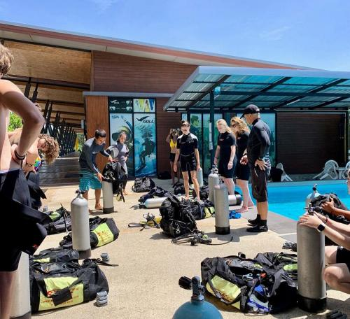Dive Equipment Preparation