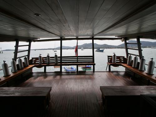 Diva Andaman Dive Deck