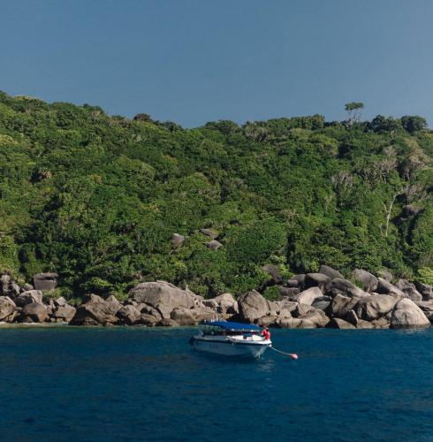 Speedboat at Similan Islands