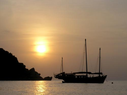 The Junk - Similan Islands Sunset