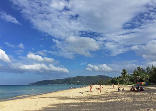 Karon Beach Phuket in High Season